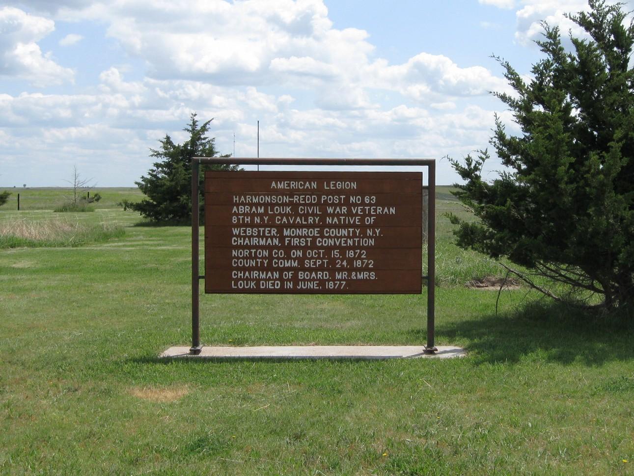 Photo of Louk sign