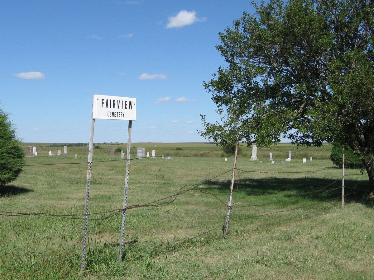 Photo of Fairview Cemetery sign
