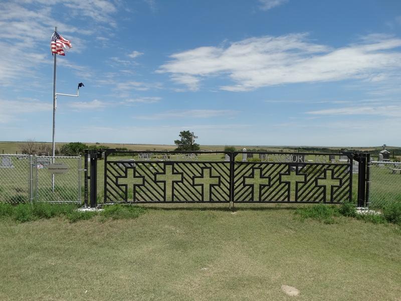 Photo of Mount Calvary Cemetery gate